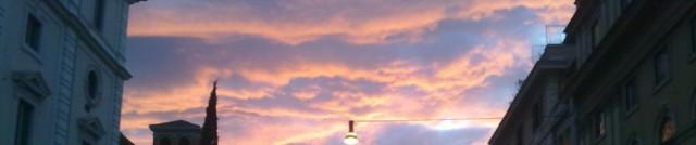 Il cielo su Roma.