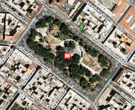 Piazza Vittorio Emanuele a Roma